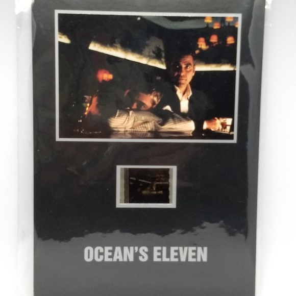 """Hollywood Archives Collectables, inc. Other - Ocean's 11 Clooney/Pitt 5""""x7"""" Senitype Cell#001468"""